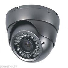 HD 1300TVL 2.8-12mm Zoom Lens Color Vandal Proof Dome 36IR CUT Security Camera