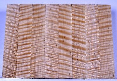 """Pen Blanks CURLY FLAME TIGER MAPLE Best Grade AAAAA Turning Craft ⅝/"""""""