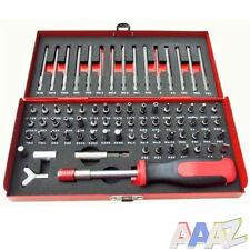 75Pc Security Screwdriver Bit Tool Set Flat Hex Spline Star Pozi Torx Phillips