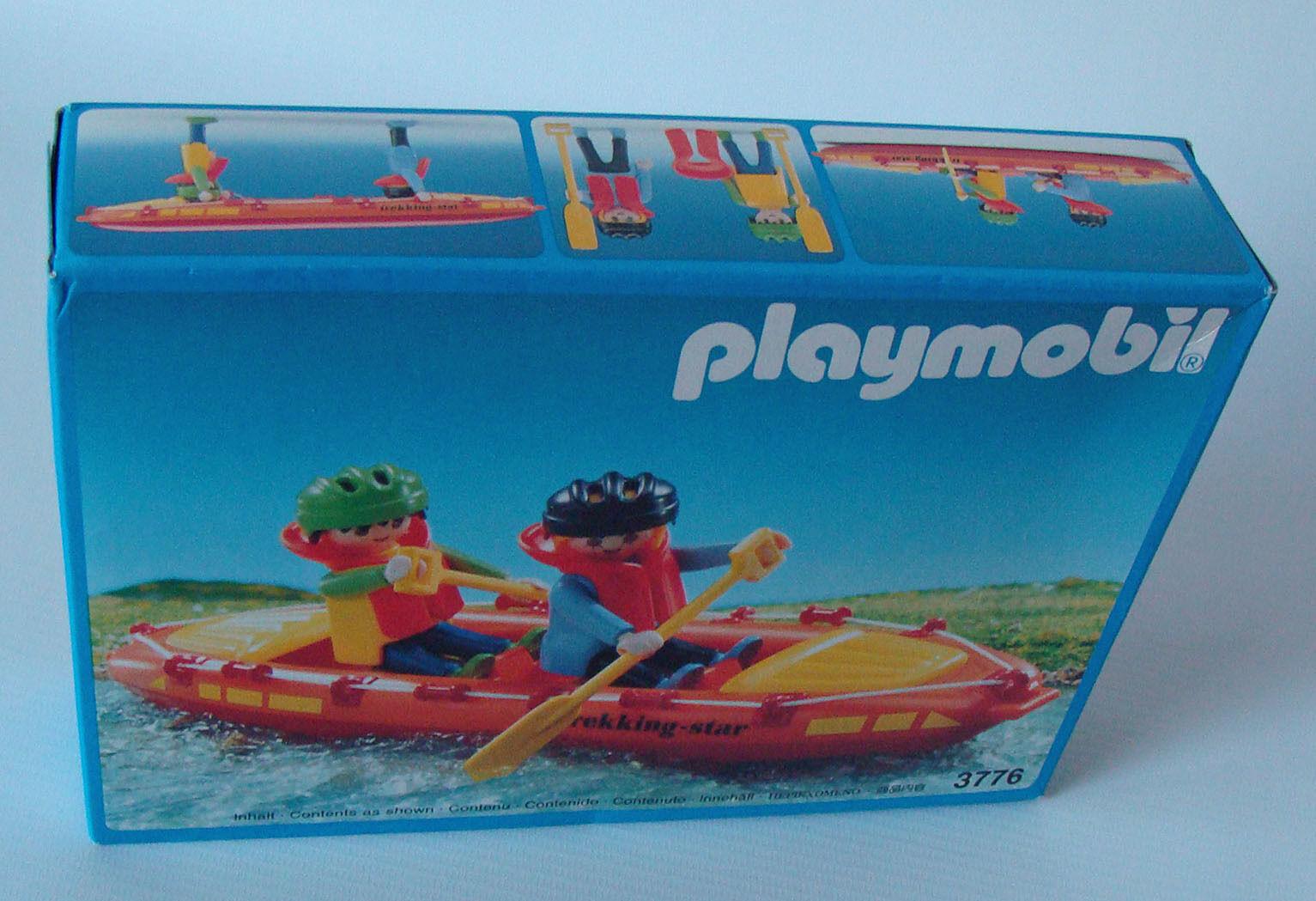 Playmobil 3776 - Wildwasserboot 4+ Neu New