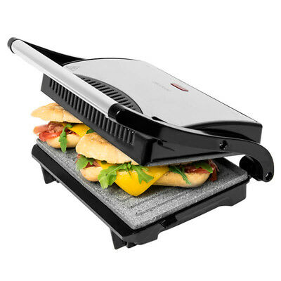 Sandwichera Grill Panini tostadora electrica asador 700W parrilla plancha