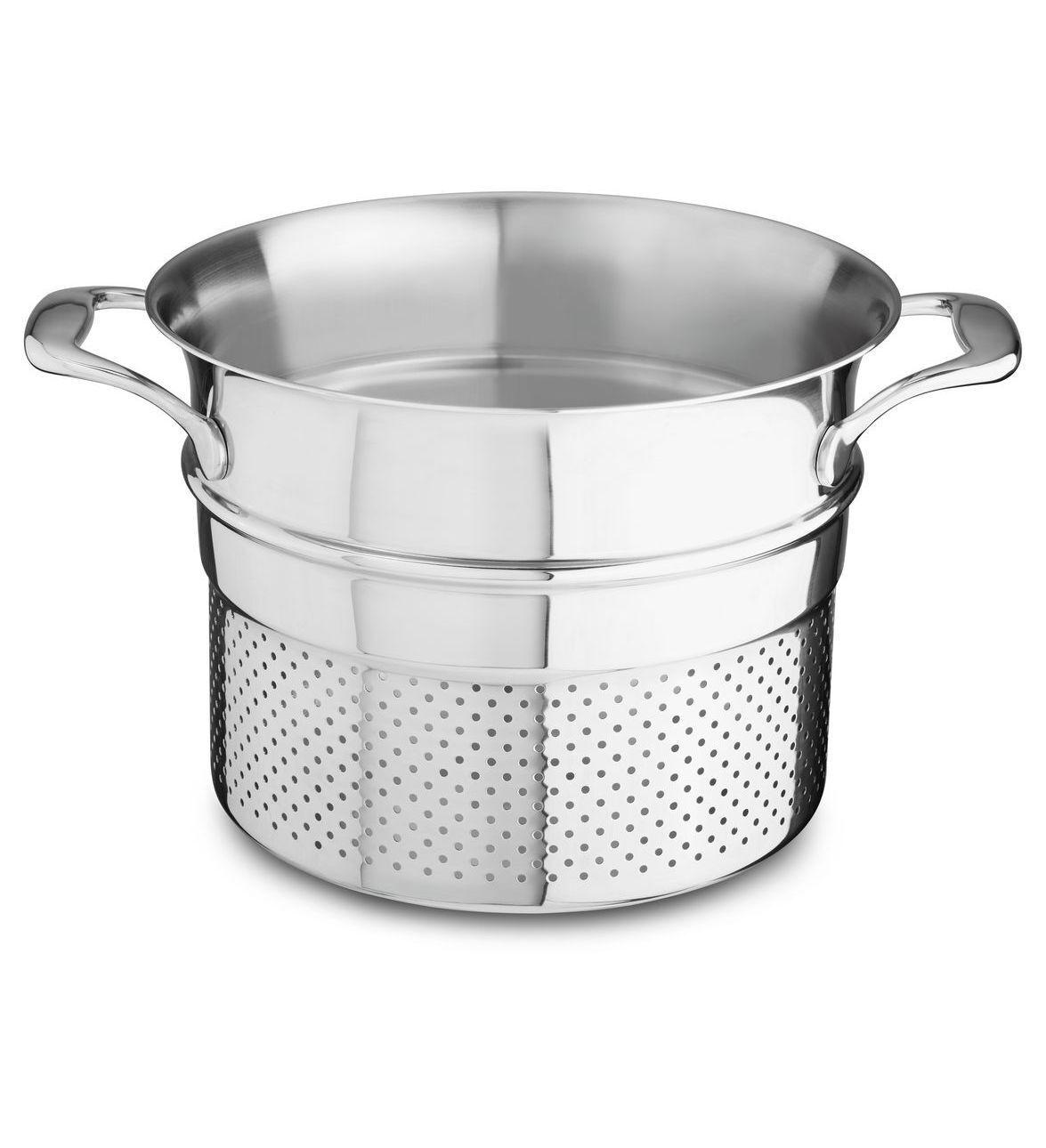 KitchenAid® 18 10 Stainless Steel Pasta Insert, KCN80PIST