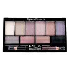 MUA MAKEUP Elysium Elements EYESHADOW PALETTE Cool METALLIC KOHL Eyeliner Pencil