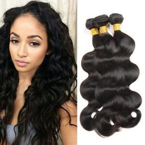 3bundle-150g-Brazilian-Hair-Body-Wave-Human-Hair-Extension-Virgin-Remy-Hair-Weft