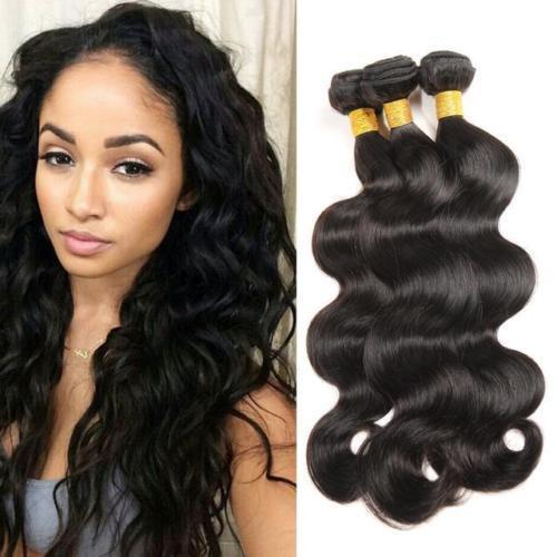 3bundle/150g Brazilian Hair Body Wave Human Hair Extension Virgin Remy Hair Weft