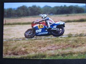 post card Honda Chevallier 500 Bikers/' Classics Spa 2013 #27 Didier de Radigues