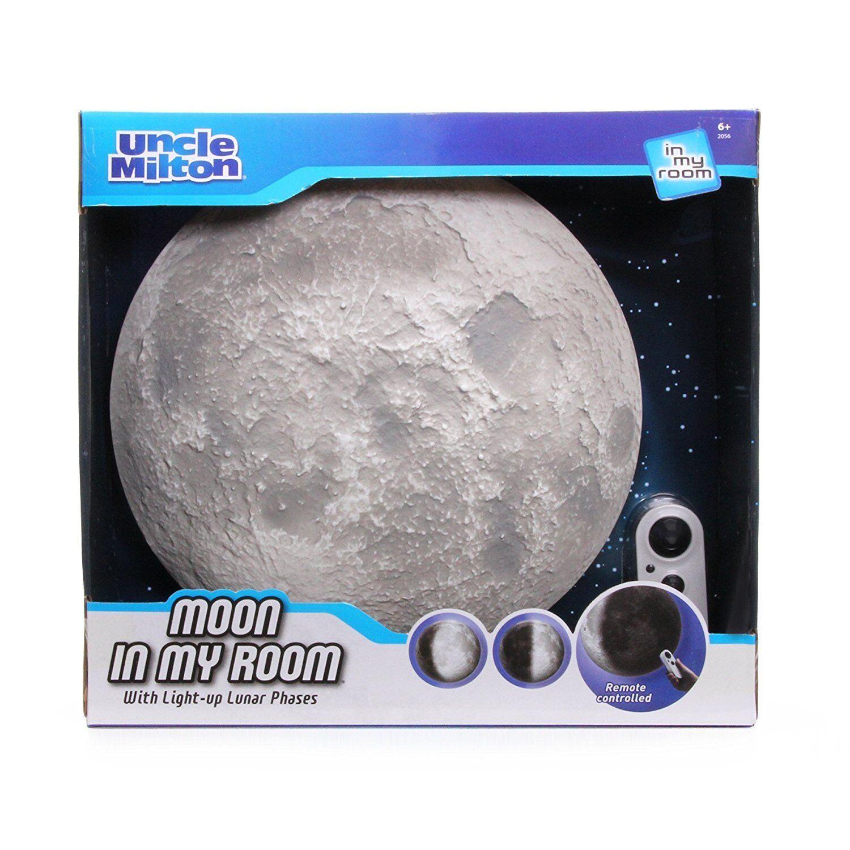 Uncle Milton MOON nella mia stanza illuminata Decorazione Miglior Prezzo Regno Unito GRATIS P&P