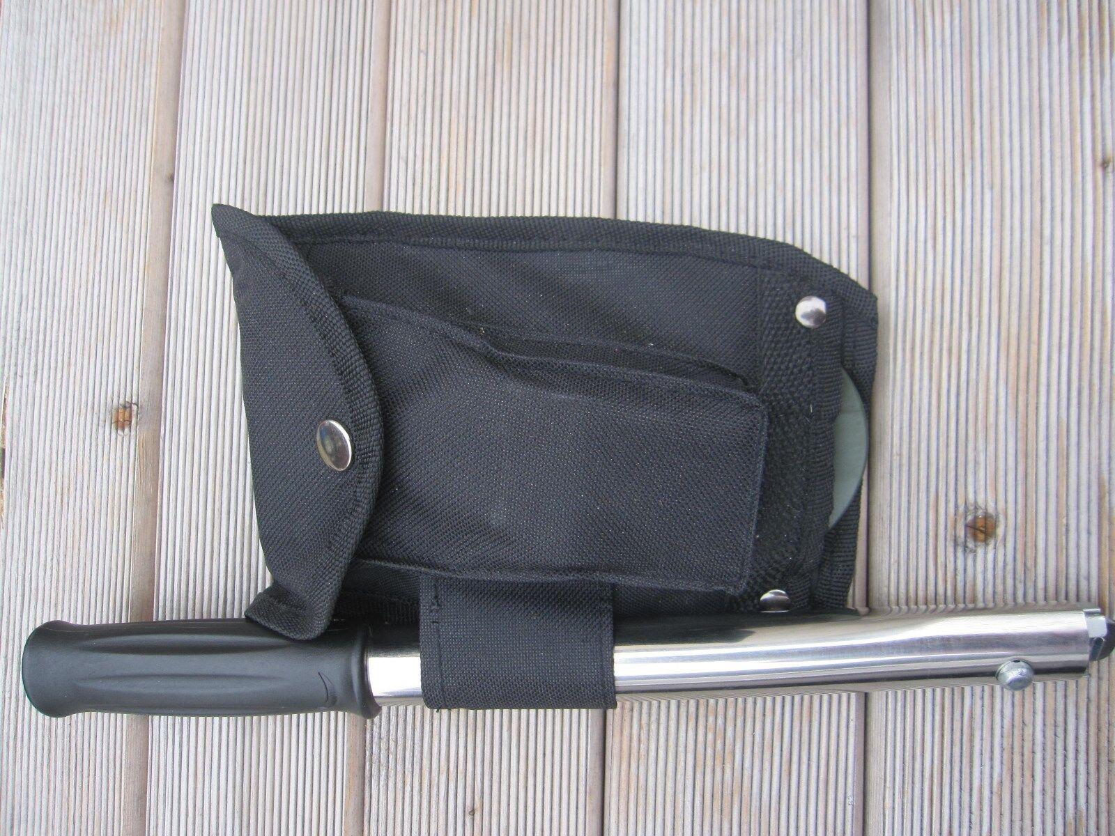 12 in Pliable 1 Pliable in Pelle Incl. hachette couteau scie Zoom Lampe de poche Cuillère ouvre-Fourche 917621