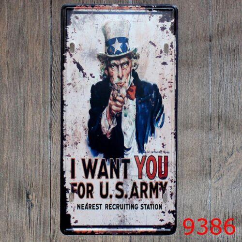 Metal Tin Sign i wang you Decor Bar Pub Home Vintage Retro Poster Cafe ART