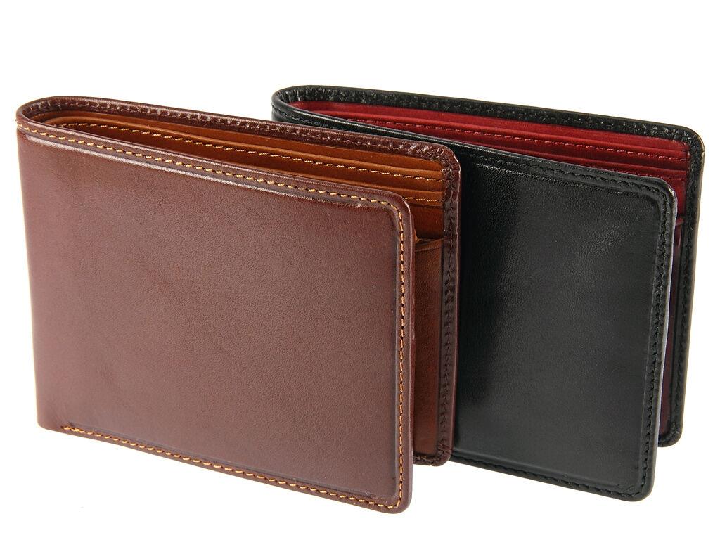 Visconti Torino Standard Bifold Veg Tanned Luxury Leather Wallet For Men - TR30