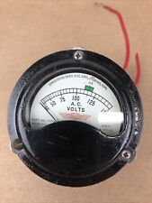 0 150 115 Vac Consolidated Diesel Electric Ac Volt Meter Mod 117 15