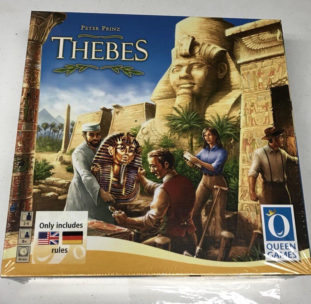 Thèbes par Queen Games Board Game Peter Prinz Egypte stratégie