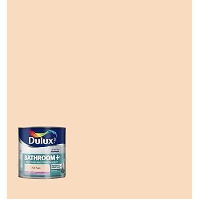 Dulux Bathroom Plus Soft Sheen Paint, 2.5 L - Soft Peach