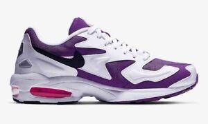 Détails sur Nike AIR MAX2 OG Light White Purple Eu43