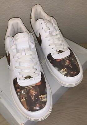 RARE NIKE AIR FORCE 1 LOW (SCARFACE/AL PACINO) SIZE 13 | eBay