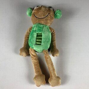 Glow-Plush-Frog-Green-Nightlight-Nursery-Baby-Kids-17-034-Stuffed-Beans-Animal-Toy