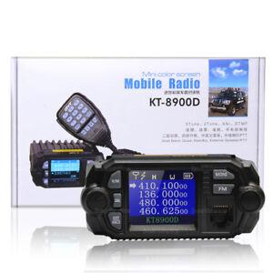 QYT-KT-8900D-Dual-Band-Quad-Standby-5Tone-25W-VHF-UHF-Car-Truck-Ham-Mobile-Radio