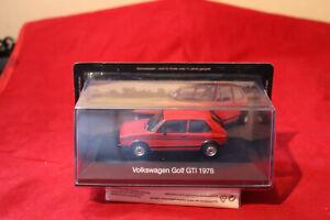 VW-GOLF-GTI-1978-in-rosso-1-43-DE-AGOSTINI-NUOVO-amp-SCATOLA-ORIGINALE-DA-COLLEZIONE-EDIZIONE-2