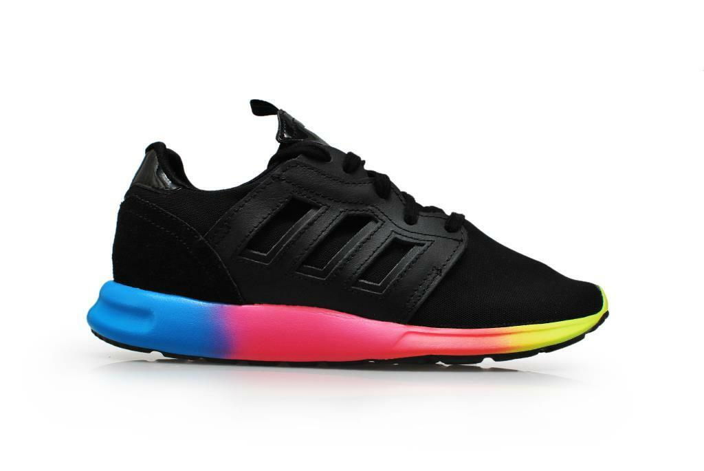 Womens Adidas ZX 500 2.0 Rita - M19079 - Black Rainbow Trainers