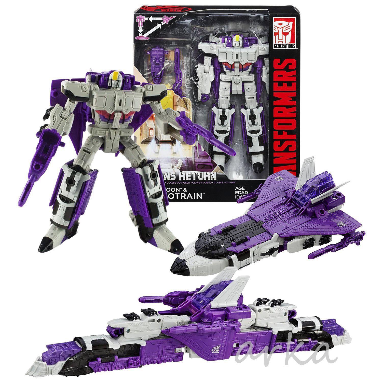 Transformers Generations Titans Return Darkmoon & Astredrain Voyager Figure NEW