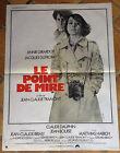 cinema-affiche originale- LE POINT DE MIRE -60x80-Dutronc-Girardot-Tramont