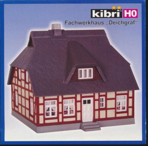 """Spur H0 kibri 8241 Neu /& OVP Fachwerkhaus /""""Deichgraf/"""""""