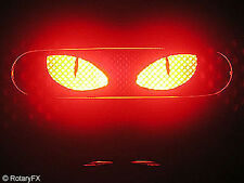 RX-8 RX8 3rd Third Brake Light Mask - Cat Eyes