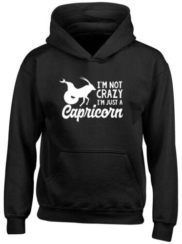 I/'m Not Crazy I/'m Just a Capricorn Boys Girls Baby Grow Vest Bodysuit