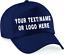 Personalised-baseball-caps-Customised-Adults-unisex-Printed-Caps-Hats-Text-Logo Indexbild 1