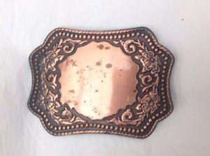 Cowboy Western Country Boucle De Ceinture Vintage American Retro Classique-afficher Le Titre D'origine Facile à Lubrifier
