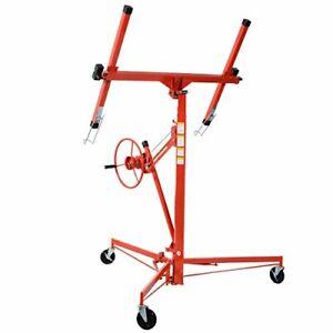 Lockable-Sturdy-Steel-Drywall-Lift-Panel-Hoist-Jack-Lifter-w-Caster-Wheel-11-039