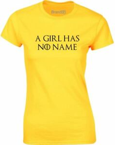 A-Girl-Has-No-Name-Ladies-Printed-T-Shirt-Casual-Cotton-Tee-Top-for-Womens