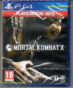 Zzz-Mortal-Kombat-X-034-NUOVO-amp-Sealed-039-PS4-quattro