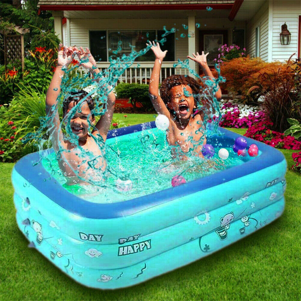 Inflatable Outdoor Garden Backyard Swimming Pool Kiddie pool