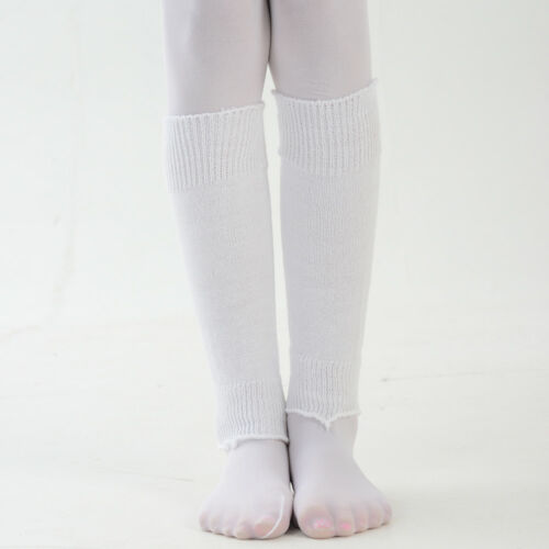 Girls Ballet Dance Fashion Leg Warmers One Size Range of Bright Colours