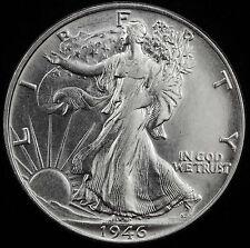 1946-p Walking Liberty Half.   BU.(Inv.A)