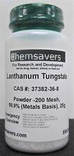 Lanthanum Tungstate Powder 200 Mesh 999 Metals Basis 25g