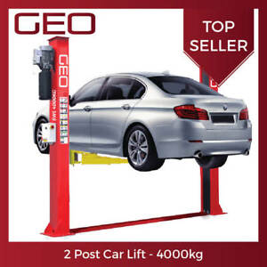 Details about 4 Tonne Manual Release 2 Post Lift (UK CE Certified) on