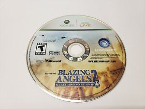 Blazing-Angels-2-Secret-Missions-of-WWII-Microsoft-Xbox-360-2007-Game-Only