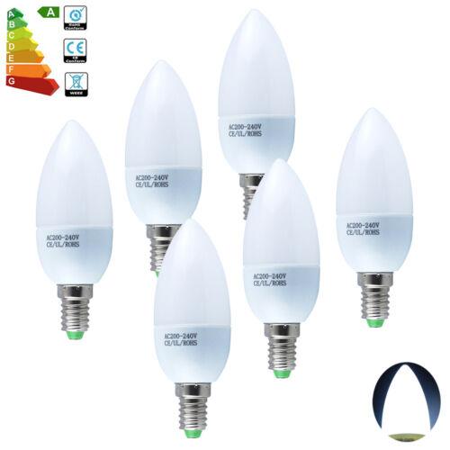 6x E14 3W SES Small Edison Screw LED SMD Candle Bulb 30W Spotlight Energy Saving