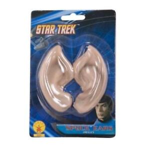 Star-Trek-Licensed-Classic-Spock-Ears-Vulcan-Latex-Adult-Costume-Accessory-New