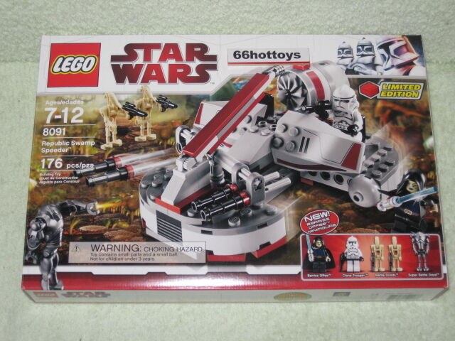 LEGO STAR WARS 8091 Republic Swamp Speeder Lego 8091NEW