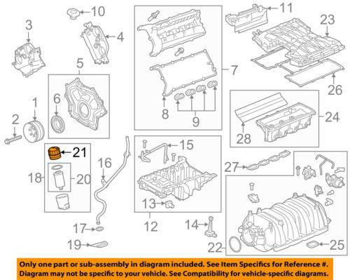 LAND ROVER OEM 10-18 Range Rover Sport 5.0L-V8 Engine-Filter Cover LR019477