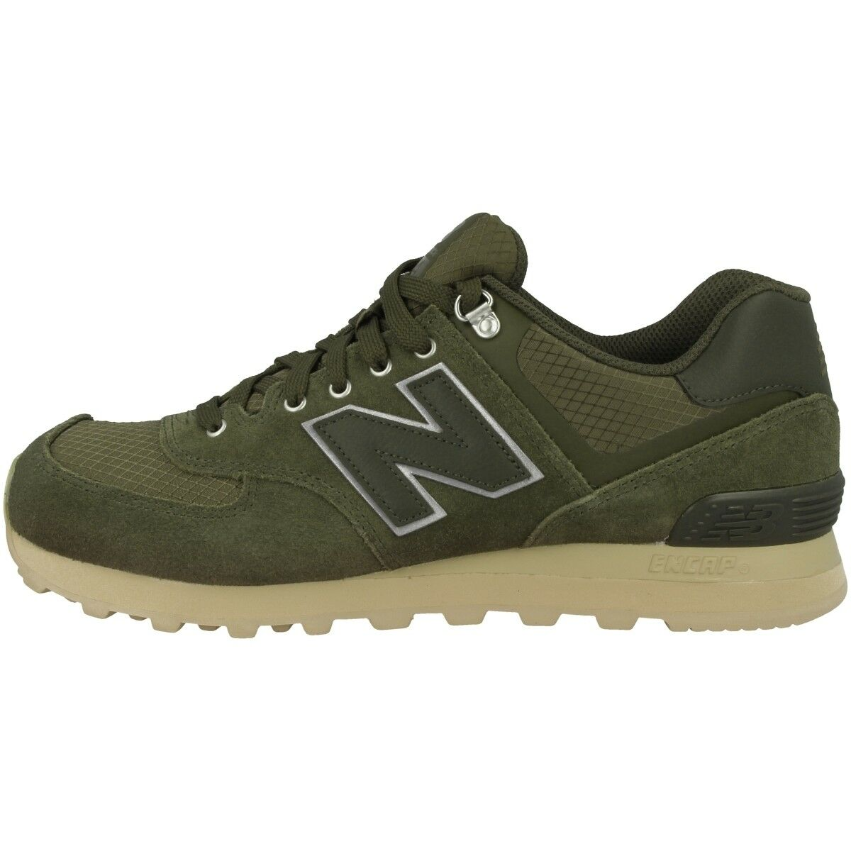 Zapatos promocionales para hombres y mujeres New Balance ML 574 PKT Schuhe ML574PKT Sneaker olive sand 410 420 576 754 373