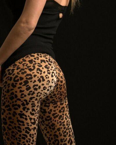 Parklane Spandex Tights Silky Cheetah Spandex Tigh