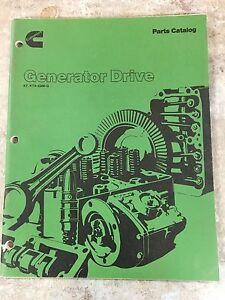 cummins kt kta 2300 g series parts catalog generator drive 3379578 rh ebay com