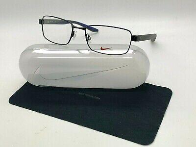 Encadenar Antagonista Destructivo  NEW NIKE 8175 012 BLACK OPTICAL Eyeglasses 56-18-140MM /CASE 790492277225 |  eBay
