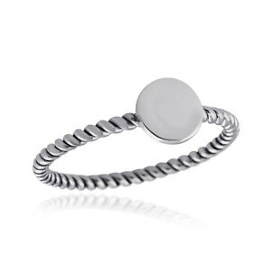 Twisted Full Circle Ring