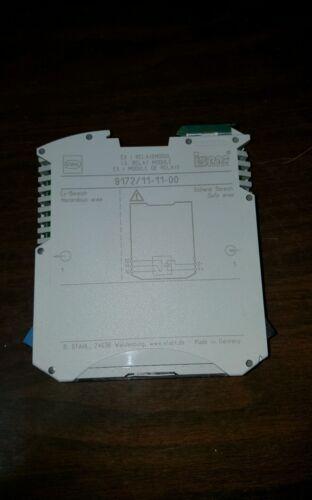 00 barrera módulo de relés de un solo canal Nuevo En Caja Stahl 9172//11-11 R