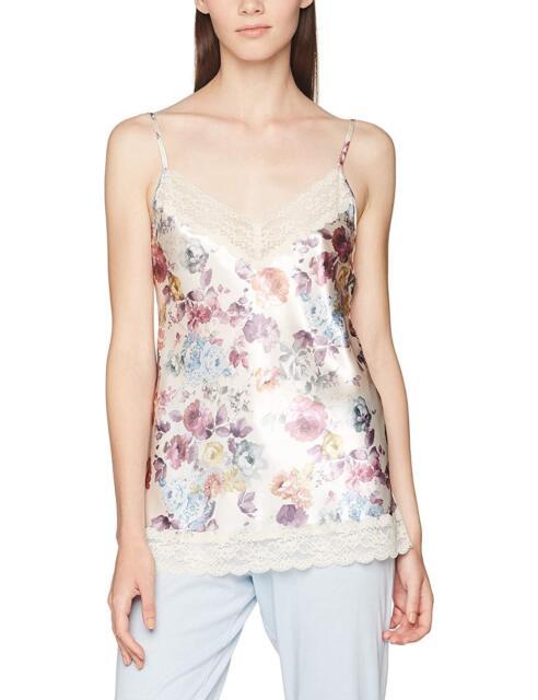 super qualité Couleurs variées enfant Boux Avenue Women's Blush Rose Printed Cami Pyjama Top,SIZE 6.BARGAIN.RRP  £25.